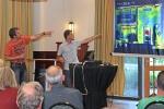 Bespreking infrarood-scan door Ben Dull en Ron Stet